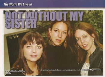 Ireland s Issues  Not Without My Sister - XFamily - Children of God ecd165b115a2a