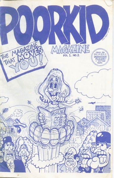 http://www.xfamily.org/images/thumb/a/a1/Poorkid-vol1-no2-cover.jpg/383px-Poorkid-vol1-no2-cover.jpg